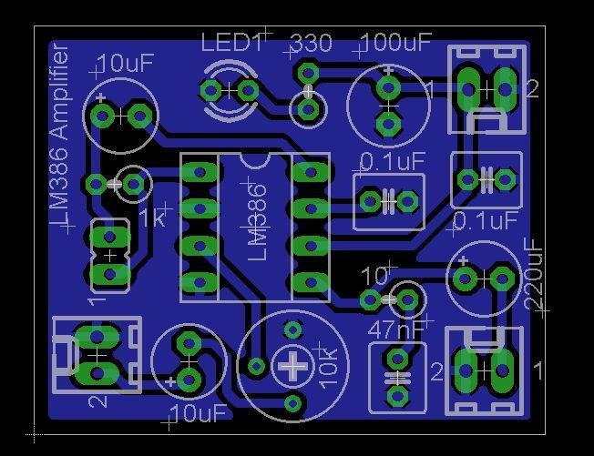 LM386 Low Voltage Audio Power Amplifier – Zx Lee